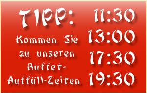 Buffet-Auffuell-Zeiten